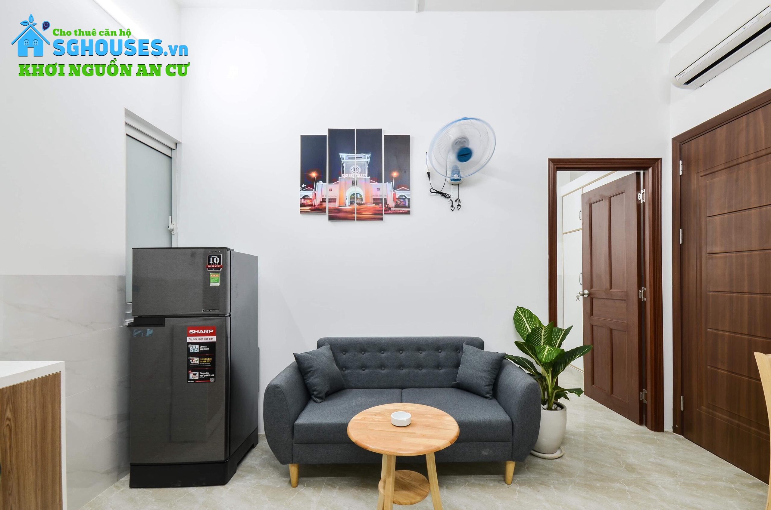 Cho thuê căn hộ dịch vụ ngắn hạn full nội thất